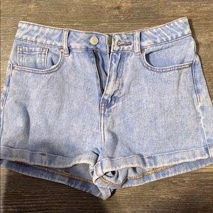 Pacsun Jean mom shorts